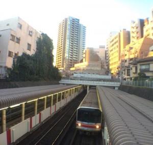 地下鉄 20141119